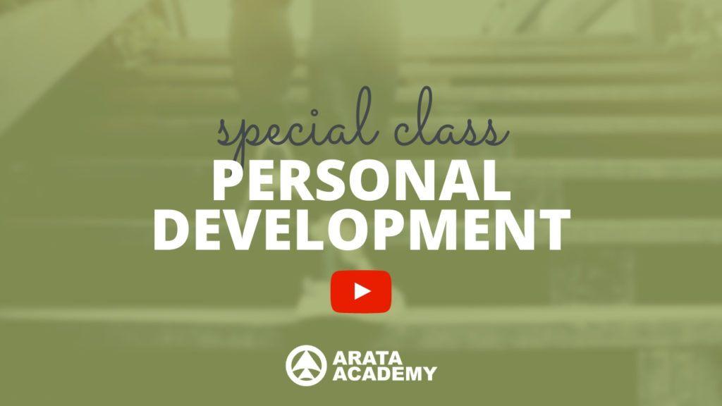 Personal Development class Arata Academy